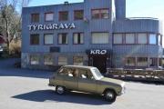 På vei til Kjell Byman, første stopp ved Tyrigrava