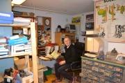 Kjell Byman på kontorplassen