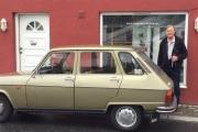 Kjell Byman og Renault 6 De´Limosine