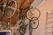 Eikehjul her også og litt andre sykler rundt
