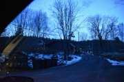 Nesten for mørkt nå til å ta bilder, men her er et av stedene hvor en del er forandret