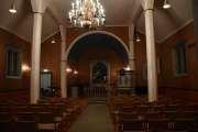 Så da står vi her, inne i Maridalen kirke