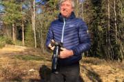 Så Knut tullet ikke som vanlig, her er det bare å ta seg en tur