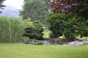Tirsdag - pent grøntanlegg her også på Danhostel Haderslev vandrerhjem