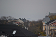 Vi snur oss mot Oslofjorden igjen og ser båten som går til … ja hvor går den? Tyskland eller Danmark?