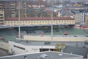 La oss se på Bislett stadion en gang til, det kan da ikke være så lenge siden jeg husker at hele muren rundt var skrella for gammel mur. Armeringsjerna begynte å ruste husker jeg.  Gudskjelov ble det ikke revet, en stor takk til  NCC Infrastructure som overtalte Oslo Kommune