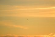 Det er et spill på himmelen som er vanskelig og vise gjennom et kamera