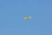 Vi snur oss litt og for se et luftambulanse helikopter fly over Majorstuen