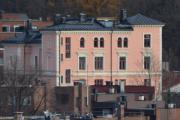 Men denne staselige bygningen på Bolteløkka ligger i Eugenies gate 15 og synes godt