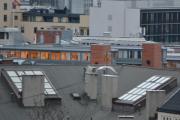 Jeg følger en Måke men blir fasinert av alle takvinduene som fins på Oslos tak. Tror ikke det er mange loft igjen i byen