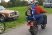 Fredag - gammel motorsykkel