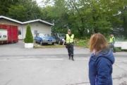 Fredag - øyekontakt med politiet