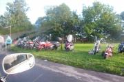 Lørdag - innkjøringen til Ekeberg