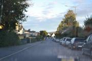 Lørdags morgen før klokke 8 på vei til Ekeberg med vår gamle bil og mat og kaffe