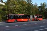 Men at de nye bussene er fine er jeg ening i, men du må ha smal rumpe. Dessuten så går du feil vei