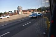Så kjører det en Buick Riviera 2dørs Sedan fra 1972 forbi oss, ikke en bil du ser hver dag