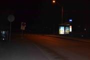 Fredagskvelden. Vi står og venter på bussen men er så heldig og få tak i en drosje med en gang. Oslos hyggeligste sjåfør og han kjørte oss rett hjem. God natt.
