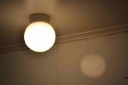 Søndag. Her ser dere den gamle lampekuppelen og passer ikke den nye, får dere aldri se neste bilde.
