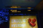 Heldige var vi også, ved Simensbråten ble overgangen til ny buss veldig kort