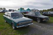 Mer Ford og til venstre ser du en Ford 17 M fra 1968 og til høyre er det også en Ford 17 M men fra 1970