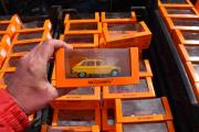 Renault 16 men dessverre ikke i gummi, men den var orange