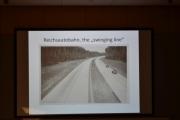 Den tyske autostradaen i gamle dager, det var et fint bilde