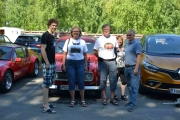 Oppstillingsbilde. Her er noen av våres norske venner