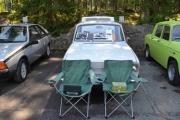 En Renault 10, den telte jeg ikke i går kveld, må ha kommet i dag. Fuego-en til venstre også