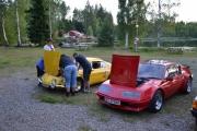 Men Renault Alpine krangler litt etter den lange turen og vi er litt bekymret