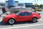 Martins bil og han hadde kjøpt rød polish som gjorde bilen enda finere