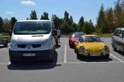 Kan man kjøre an Renault Alpine A-110 inn i en Renault Trafic eller en Renault Master? Bare en ide jeg har
