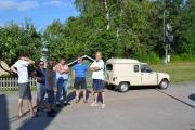 Her ser vi litt av gjengen som skal til Finland og Atle sin 4èr ser vi i bakgrunnen
