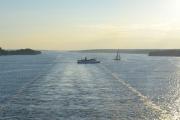 Der kommer turistbåten også
