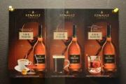 Tre typer Renault Cognac observerer vi her