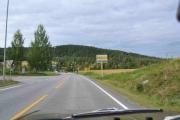Men nå skal vi ta til venstre mot Eidsvoll - tror jeg