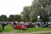 Her ser vi Citroen bilene, det er mange av dem