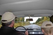 På en tur skal jeg ta bilde av alle bilene som kjører forbi oss, det blir noe for Åneby det!