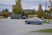 Her kommer det enda en Renault 16, da er de tre stykker
