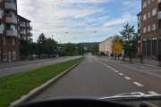 Nå er vi i Finnmarkgata, den er en del av Ring 2 men er bygd ned fra fire til to felts vei nå