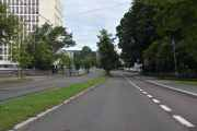Nå er vi i Drammensveien også en bit av Ring 2, vi er på Skøyen nå og alt er forandret