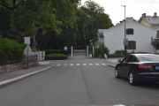 Neste er litt bortgjemt, men jeg kjører Colbjørnsens gate ned, veien fikk navn i 1866 etter lagmann Herman Colbjørnsen