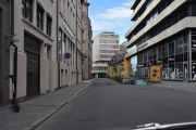 Her er vi i Møllergaten, navnet kommer fra Nedre Foss mølle som var i enden av gaten ved Akerselva