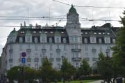 Grand Hotel, det er fra 1874 men sin nåværende utseende er fra 1913. Hotellet har har 238 rom og 51 suiter