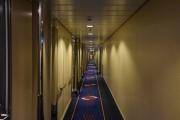 Først må jeg finne lugaren, den var ikke i 7 etasje men i 10 etasje