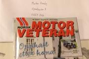 Skal du vite mer om Renault 6 så må du kjøpe Norsk Motorveteran blad nr. 9-2017, 8 sider med herlig lesestoff.