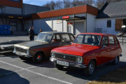 Så hadde vi med oss bilen til vårtreffet på Brandbu 22 april hvor vi endelig får se 2 seksere ved siden av hverandre