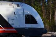 Kort-tur til Maridalen 9 mai 2018. Vi er på en gammel stasjon hvor togene suser forbi