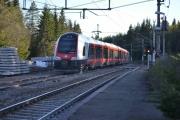 Kort-tur til Maridalen 9 mai 2018. Der kjører det siste toget, da går turen hjemover igjen