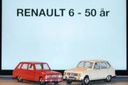 Vår første tur i regi Renault 6 - 50 års jubileum, en modell er Fransk og en er fra Japan