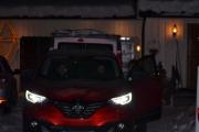 Vår første tur i regi Renault 6 - 50 års jubileum, mørket faller på og noen av våre prominente gjester må reise